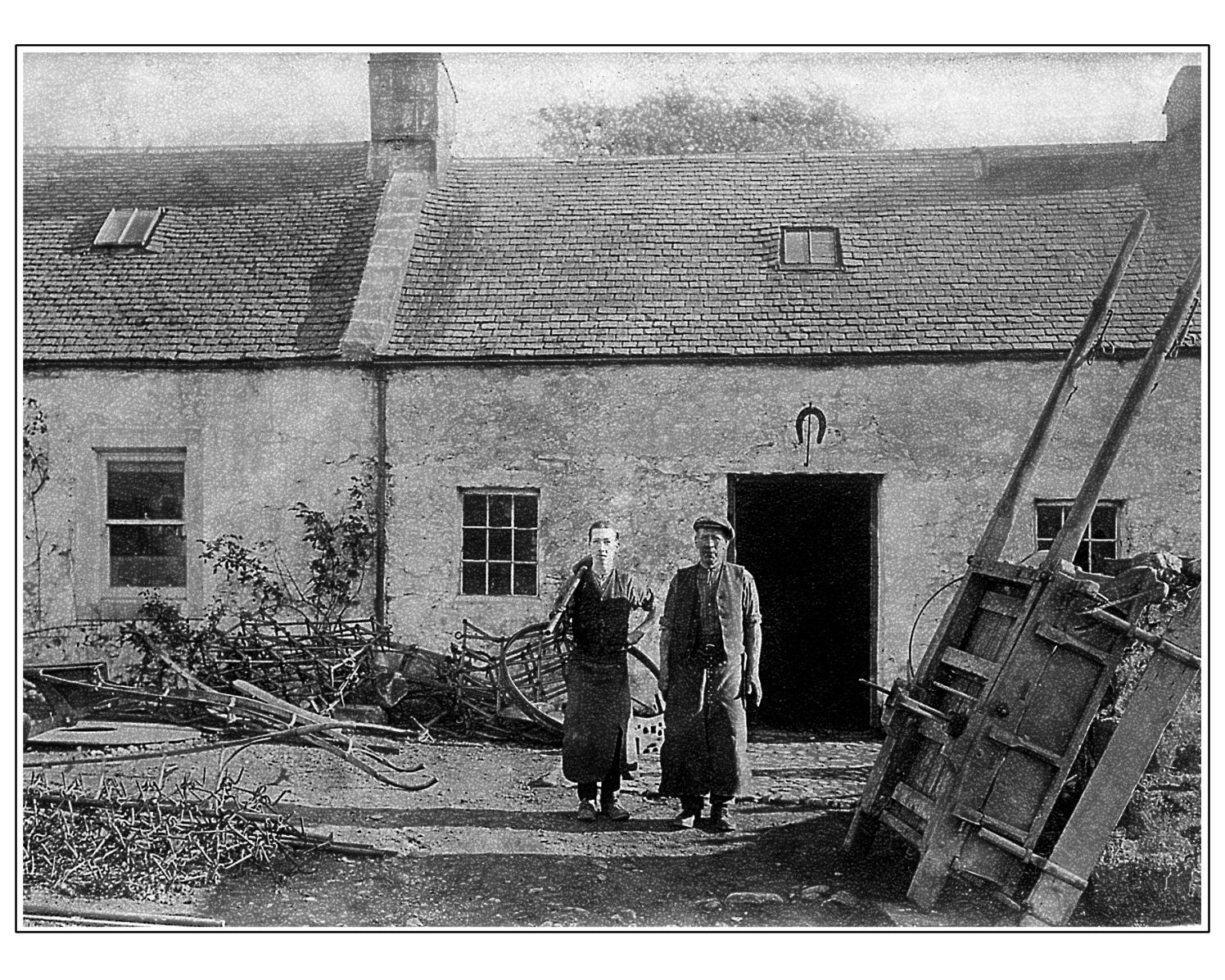 Blacksmith, Glenginnet Road