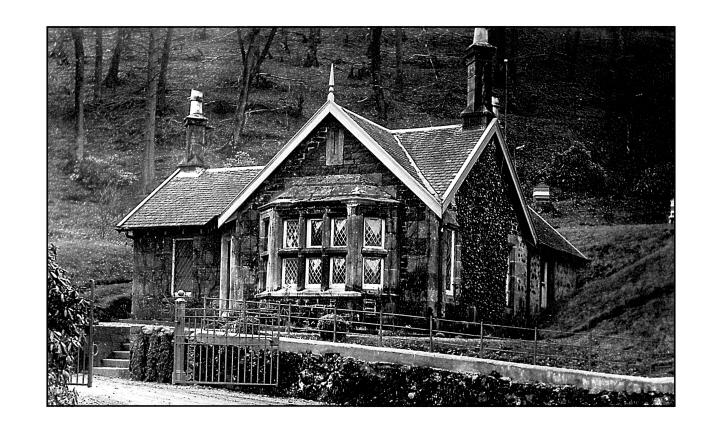 Alton Albany House gatehouse